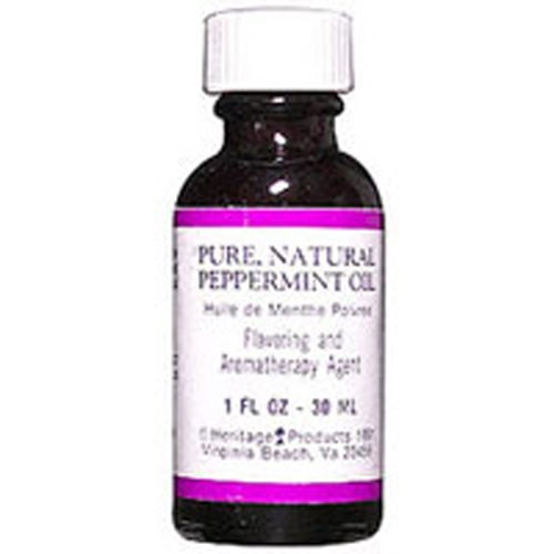 Essential Oil PEPPERMINT, 1 OZ by Heritage Products