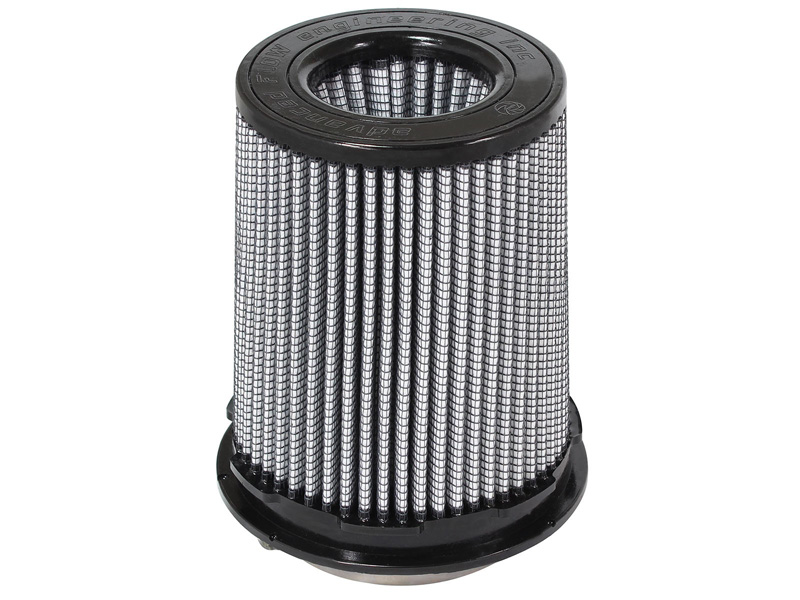 aFe POWER 21-91097 Magnum FLOW Pro DRY S Air Filter 3-1/2F x 5B(mtm2) x 4-1/2T (inv) x 6-1/2H in
