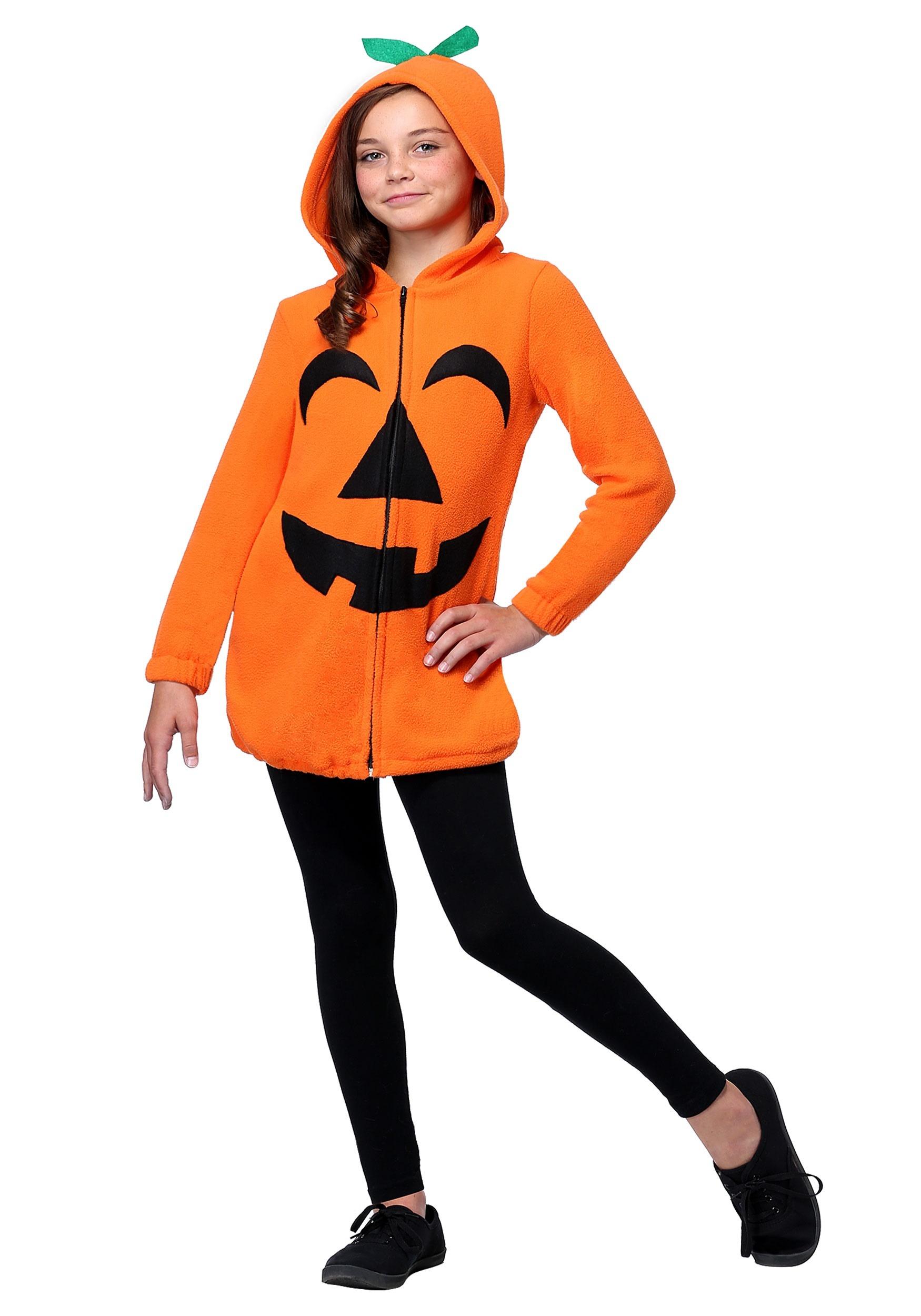 Playful Pumpkin Costume for Girls