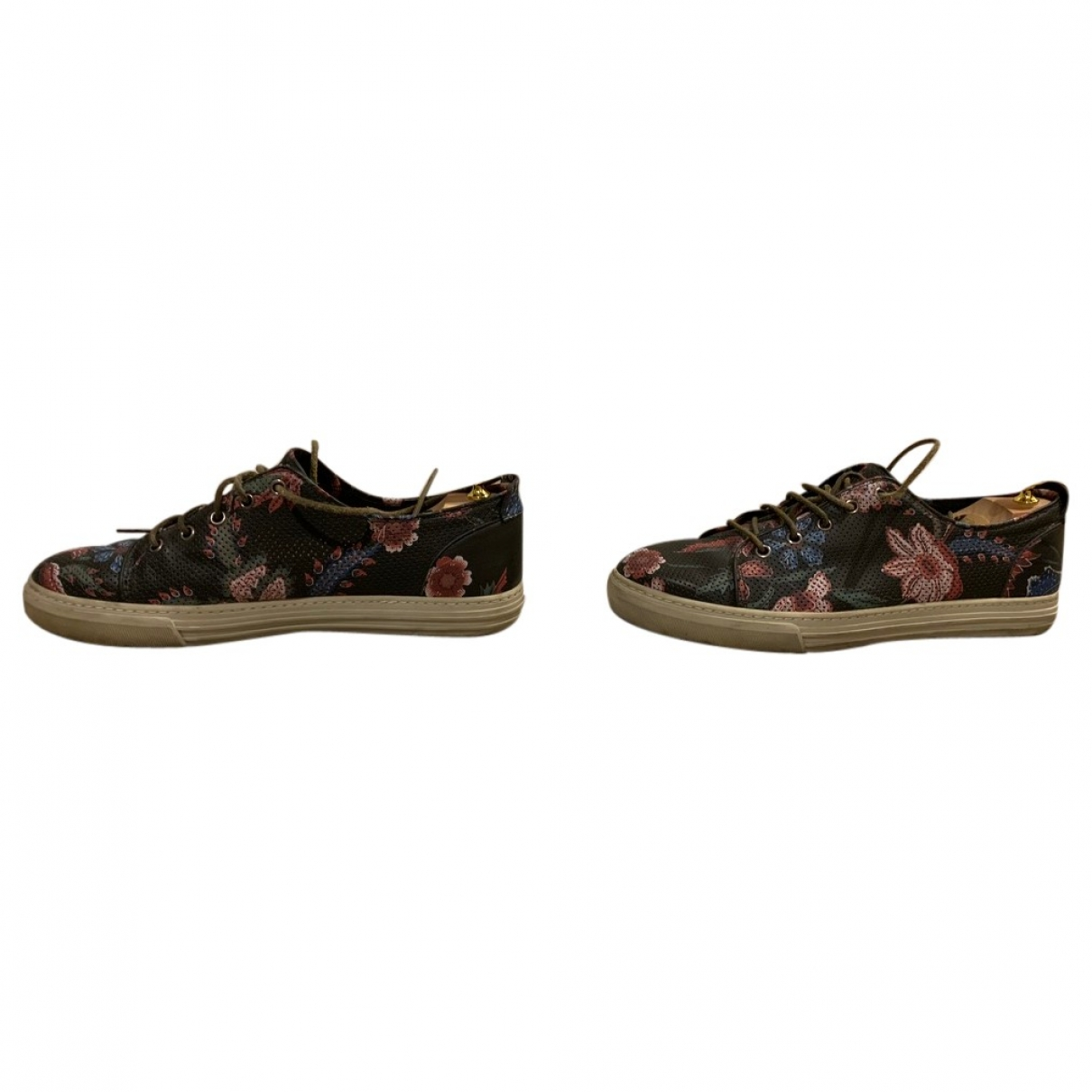 Gucci \N Green Leather Trainers for Men 43 EU