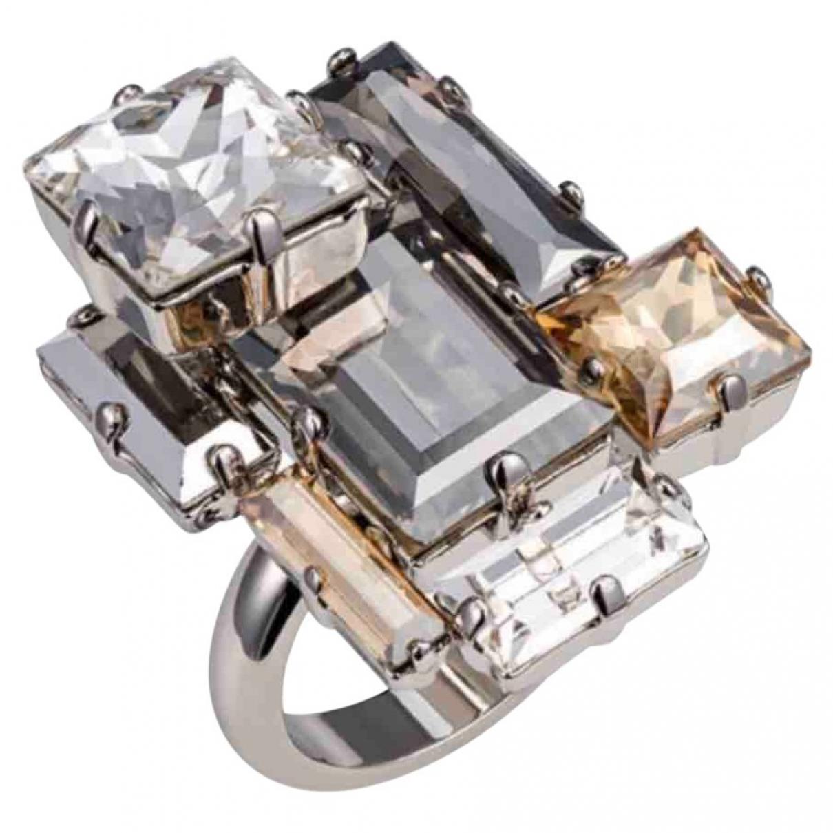 Swarovski Atelier \N White Crystal ring for Women 52 MM
