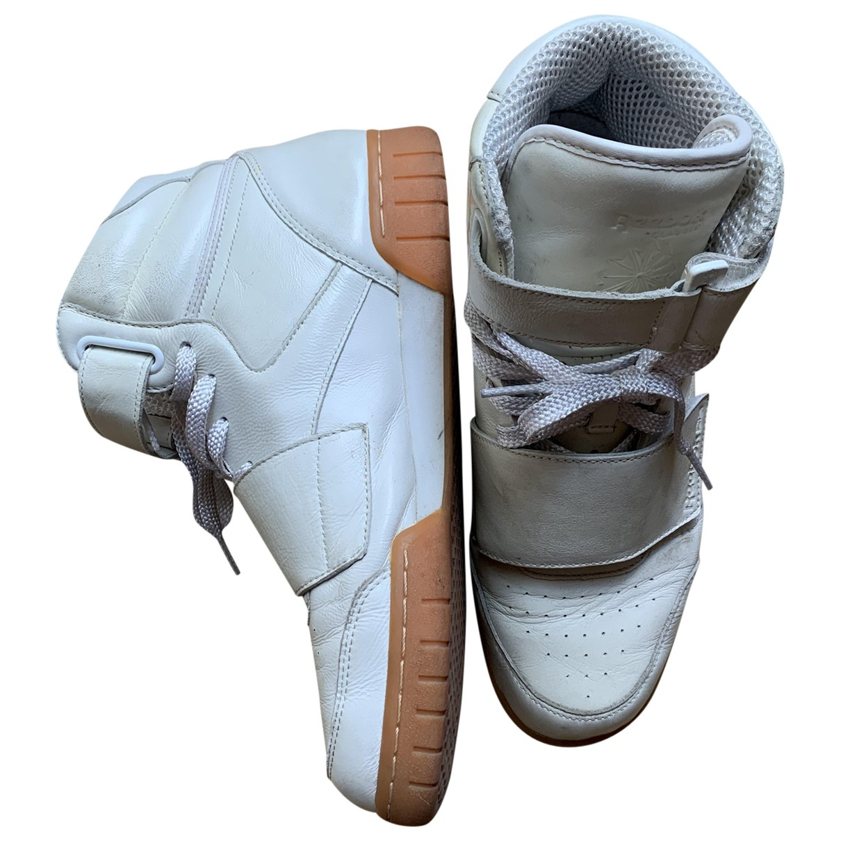 Reebok \N White Leather Trainers for Men 42 EU