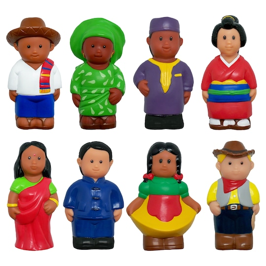Get Ready Kids® Multicultural Around The World Figures Set | Michaels®