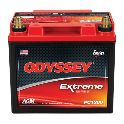 Odyssey Batteries Extreme Series, Universal, 540 CCA, Top Post - PC1200T
