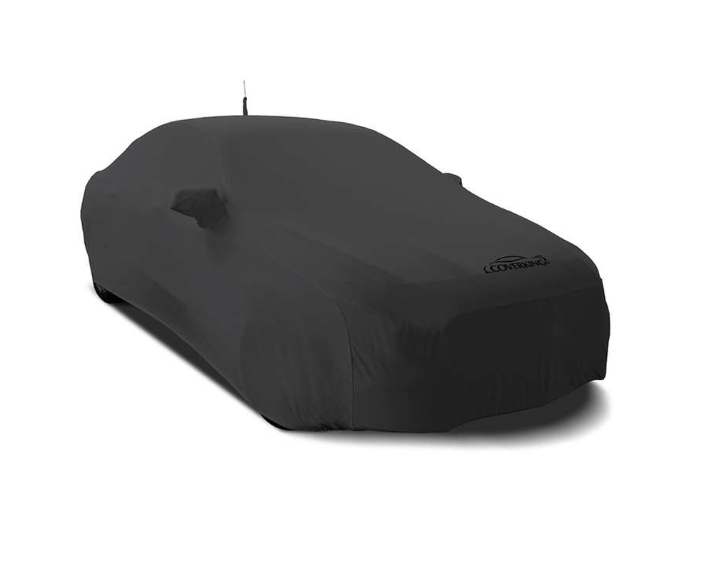 Coverking CVC3SS78TT9850 CVC3SS78 Satin Stretch Dark Grey Custom Car Cover Toyota Camry 15-17