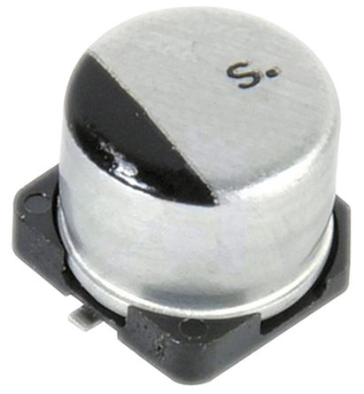 Panasonic 100μF Electrolytic Capacitor 35V dc, Surface Mount - EEE1VA101UP (10)