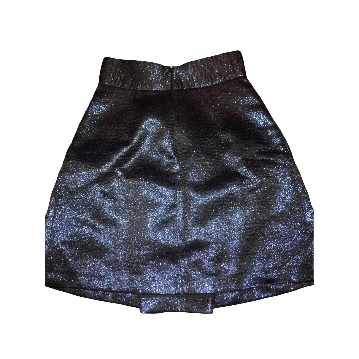 Zara \N Blue Glitter skirt for Women XS International