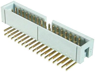 ASSMANN WSW , AWHW, 20 Way, 2 Row, Right Angle PCB Header (5)