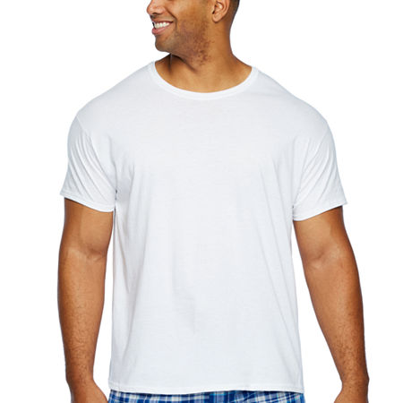 Hanes 4 Pack Short Sleeve Crew Neck T-Shirt-Big, 2x-large , White