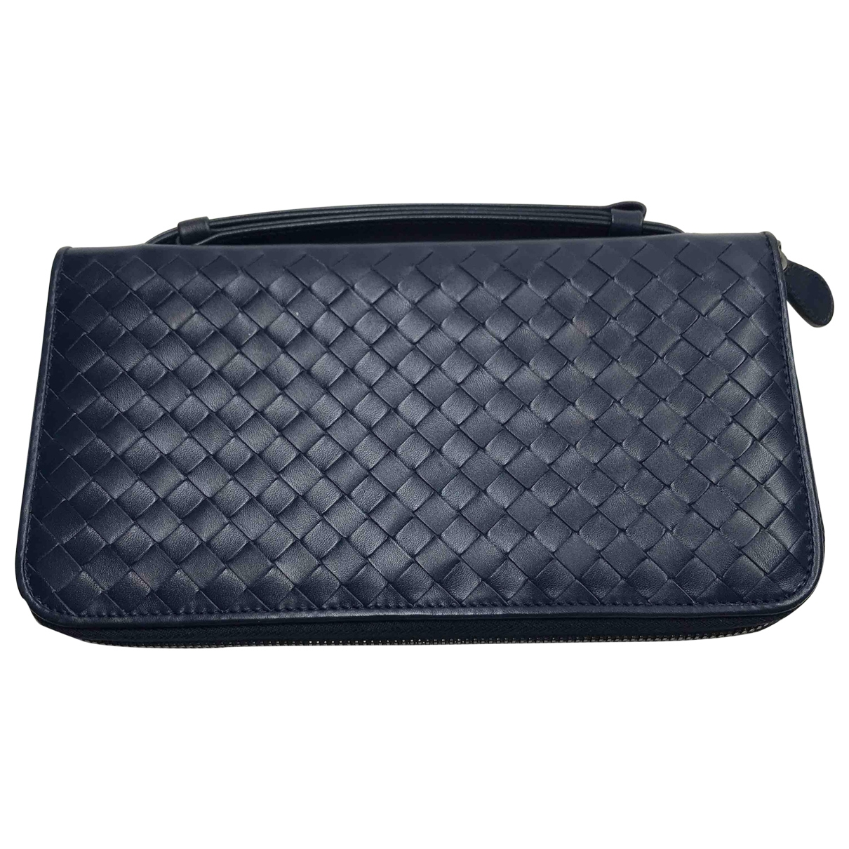 Bottega Veneta \N Blue Leather Clutch bag for Women \N
