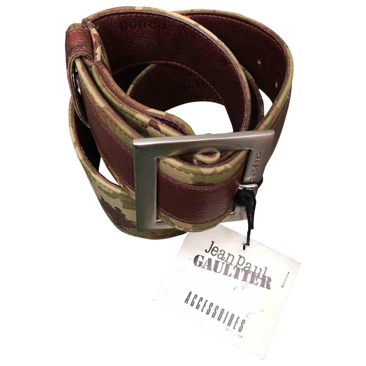 Jean Paul Gaultier \N Multicolour Leather belt for Women 95 cm