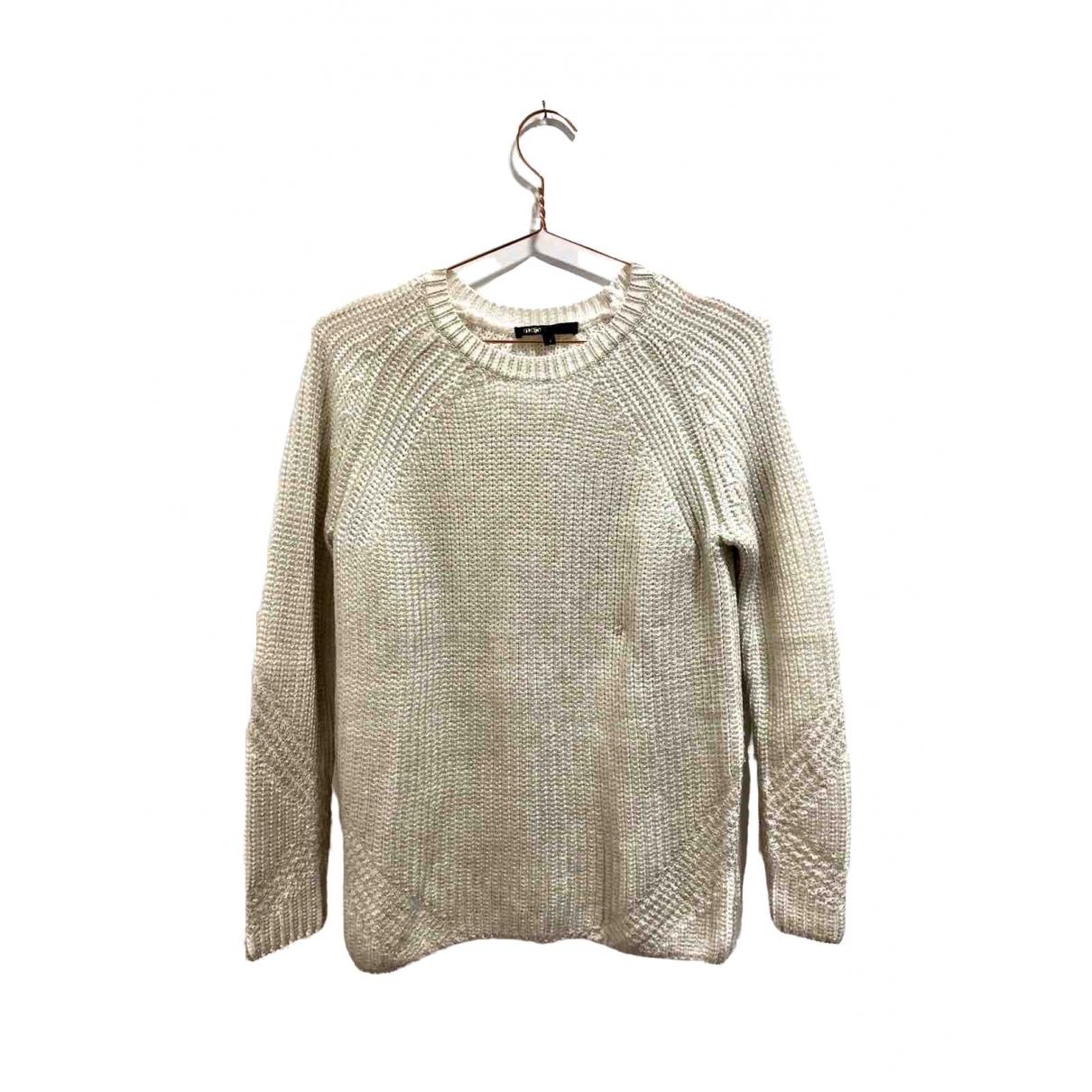Maje \N Ecru Wool Knitwear for Women 1 0-5