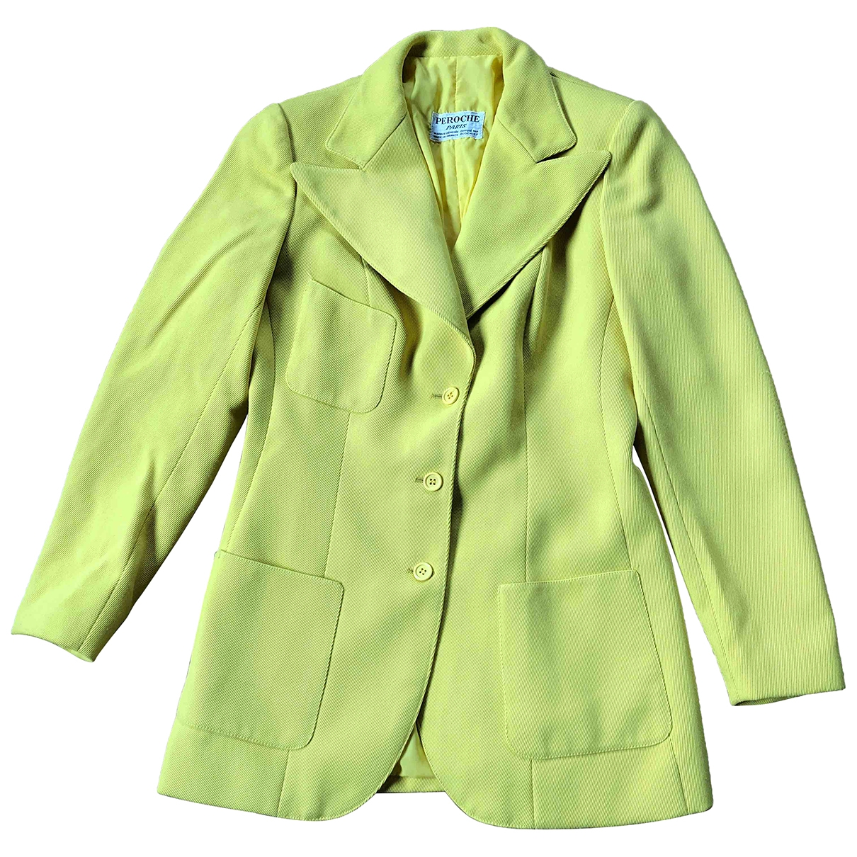 Non Signé / Unsigned \N Yellow jacket for Women 36 FR