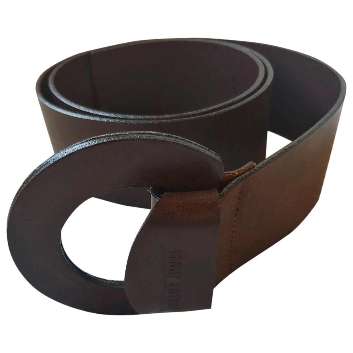 Armani Jeans \N Brown Leather belt for Women 95 cm