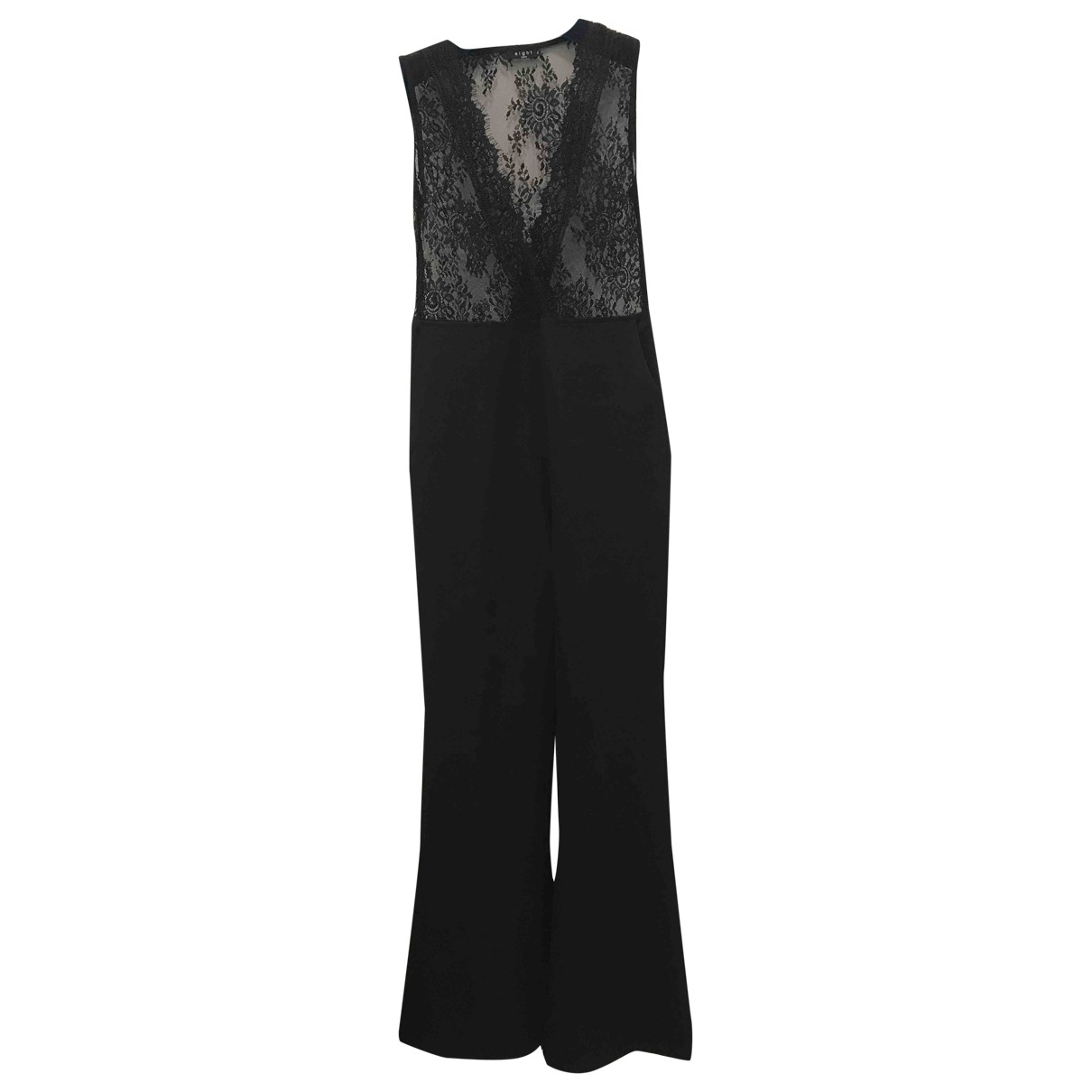 Non Signé / Unsigned \N Black jumpsuit for Women M International