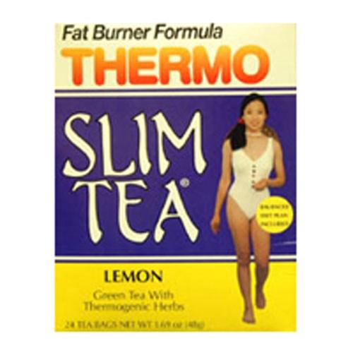 Thermogenic Slim Tea Lemon 24 Bags by Hobe Labs