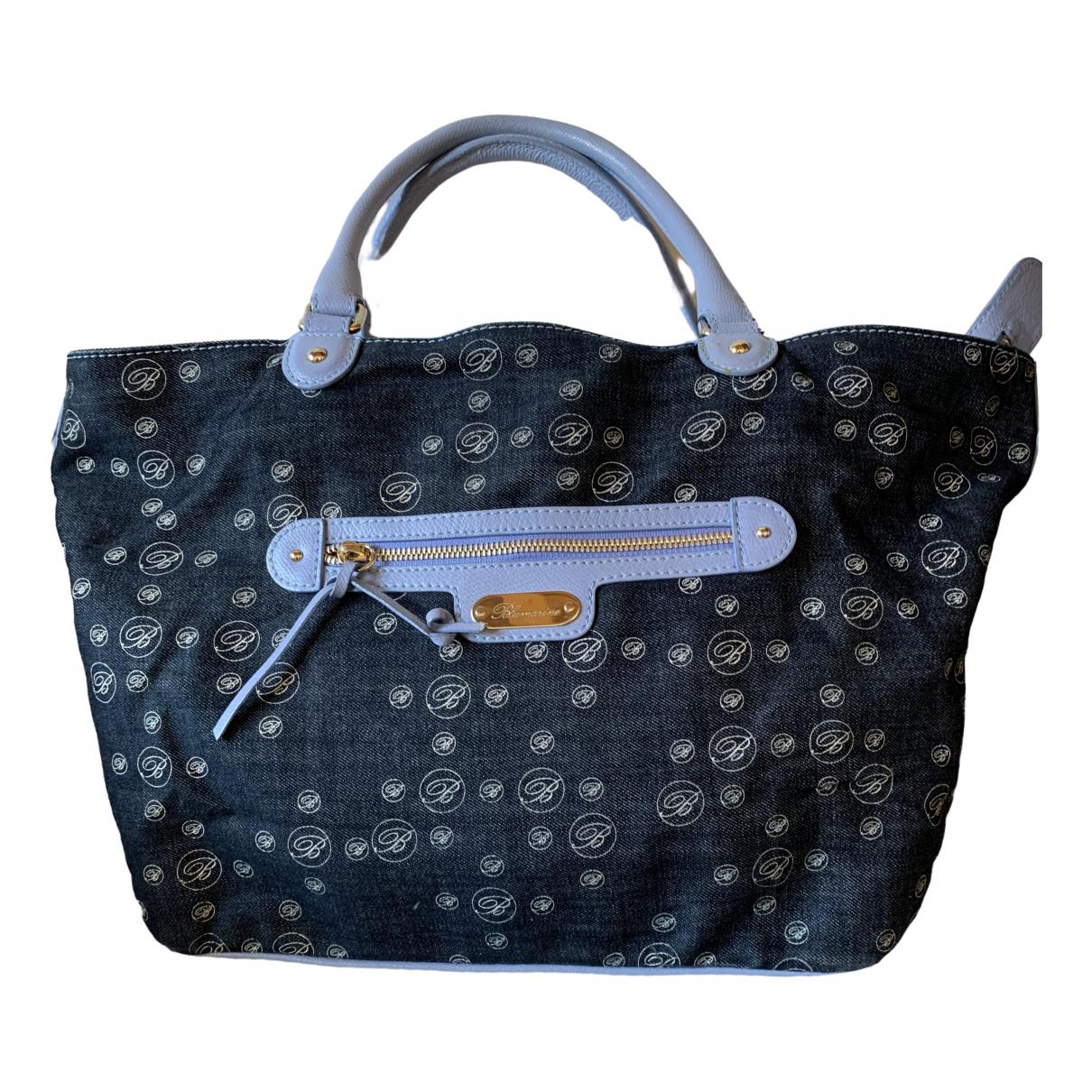 Blumarine \N Blue Denim - Jeans handbag for Women \N