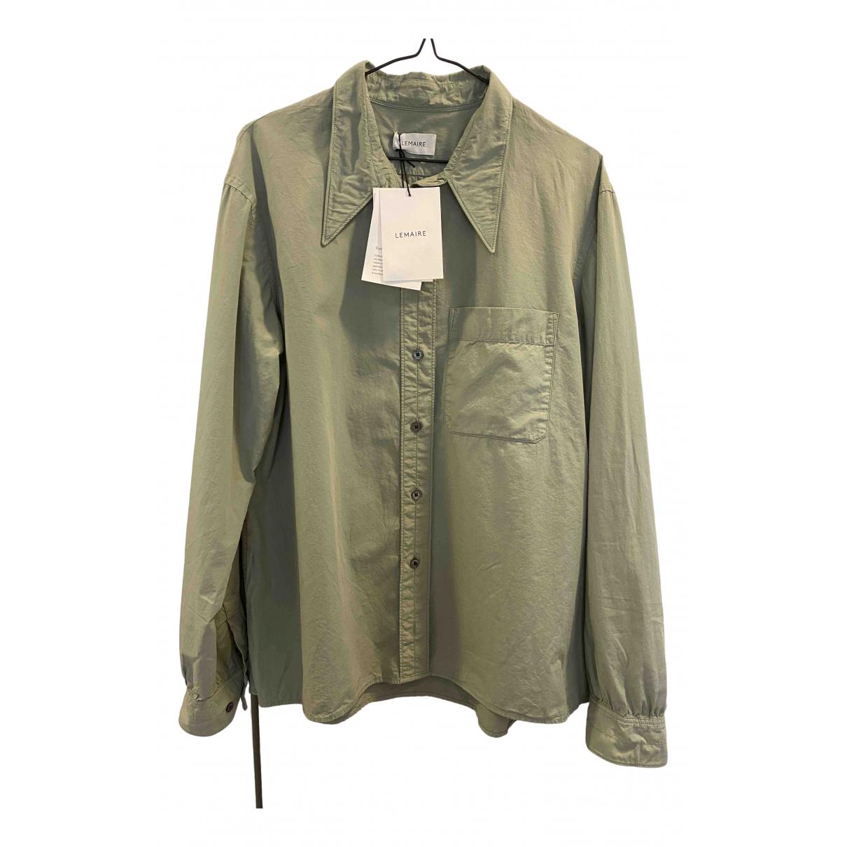 Lemaire \N Khaki Cotton  top for Women 38 FR