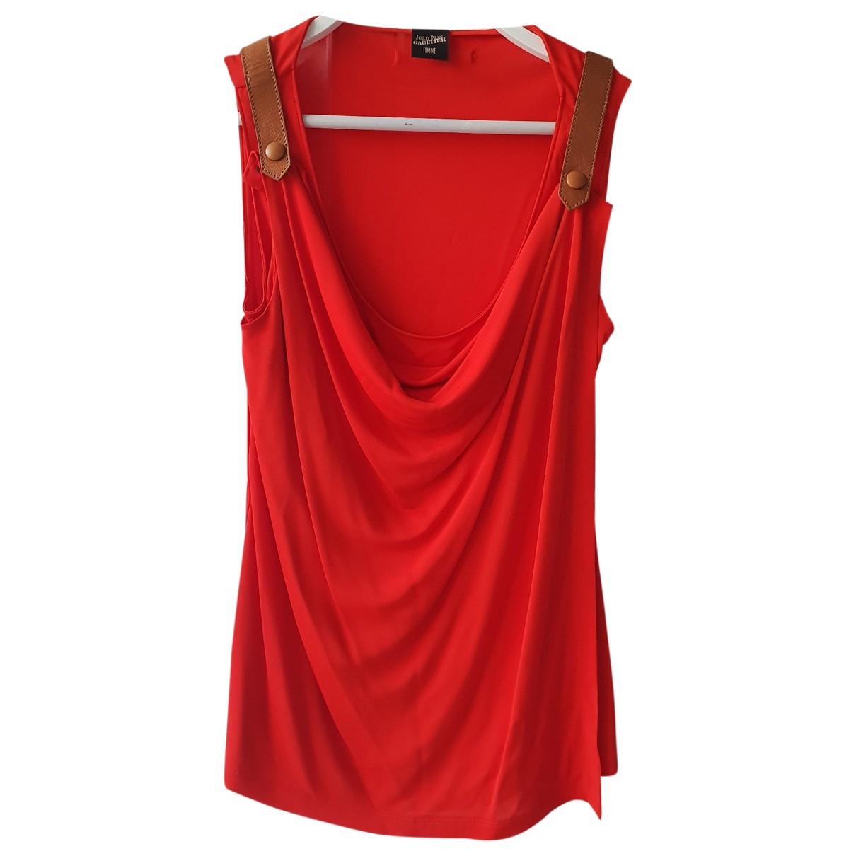 Jean Paul Gaultier \N Red  top for Women 40 IT