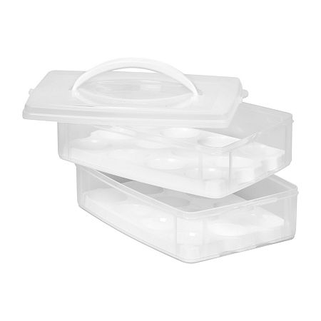 Snapware Snap 'N Stack Food Storage Eggtainer, One Size , No Color Family