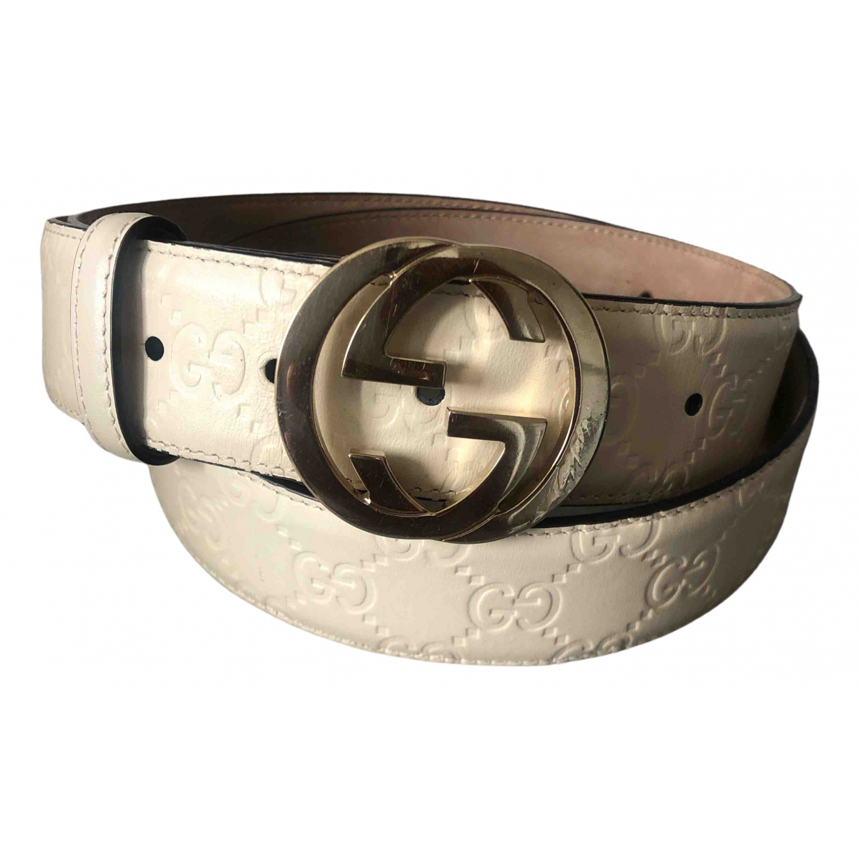 Gucci \N Leather belt for Women 95 cm