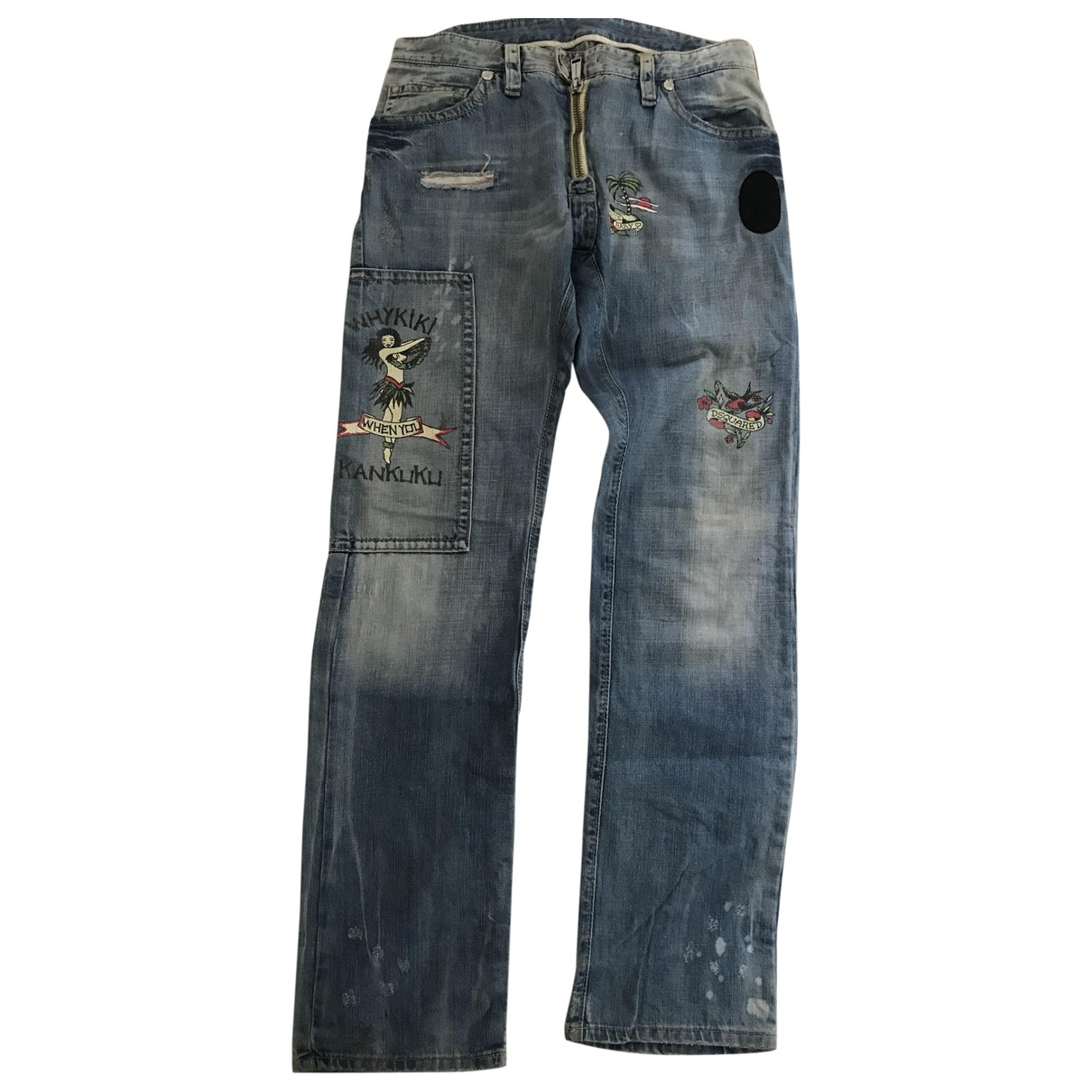 Dsquared2 \N Cotton Jeans for Men 32 US