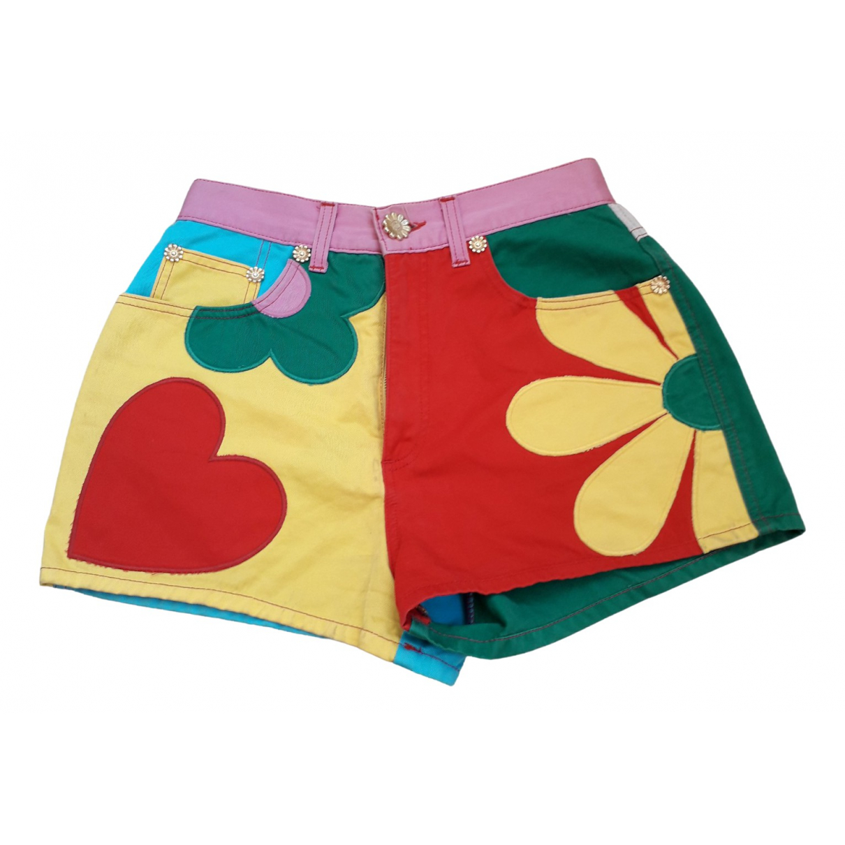 Moschino \N Multicolour Cotton Shorts for Women 44 IT