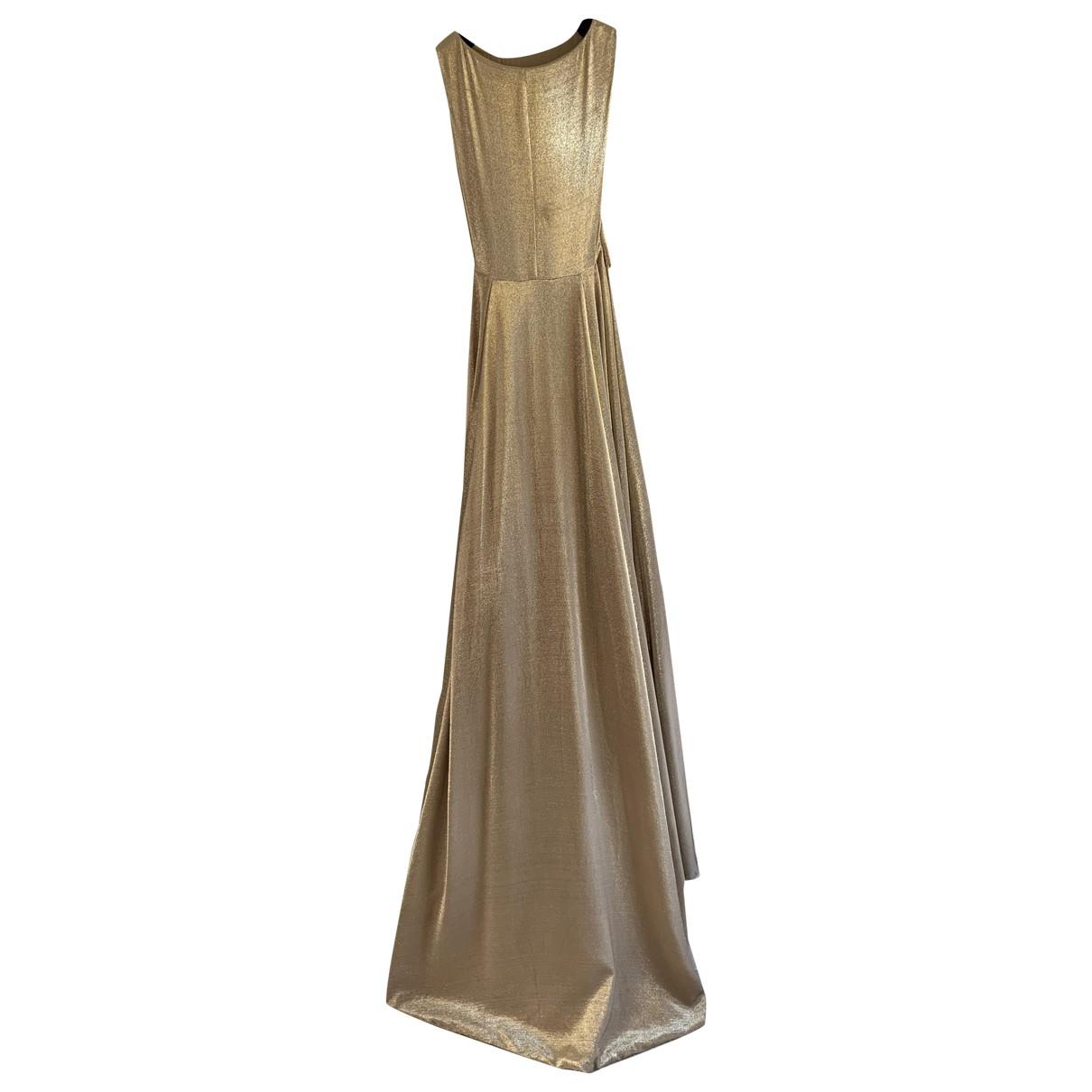 Ports 1961 \N Gold Silk dress for Women 38 IT