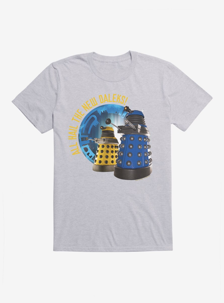 Doctor Who Hail The New Daleks T-Shirt