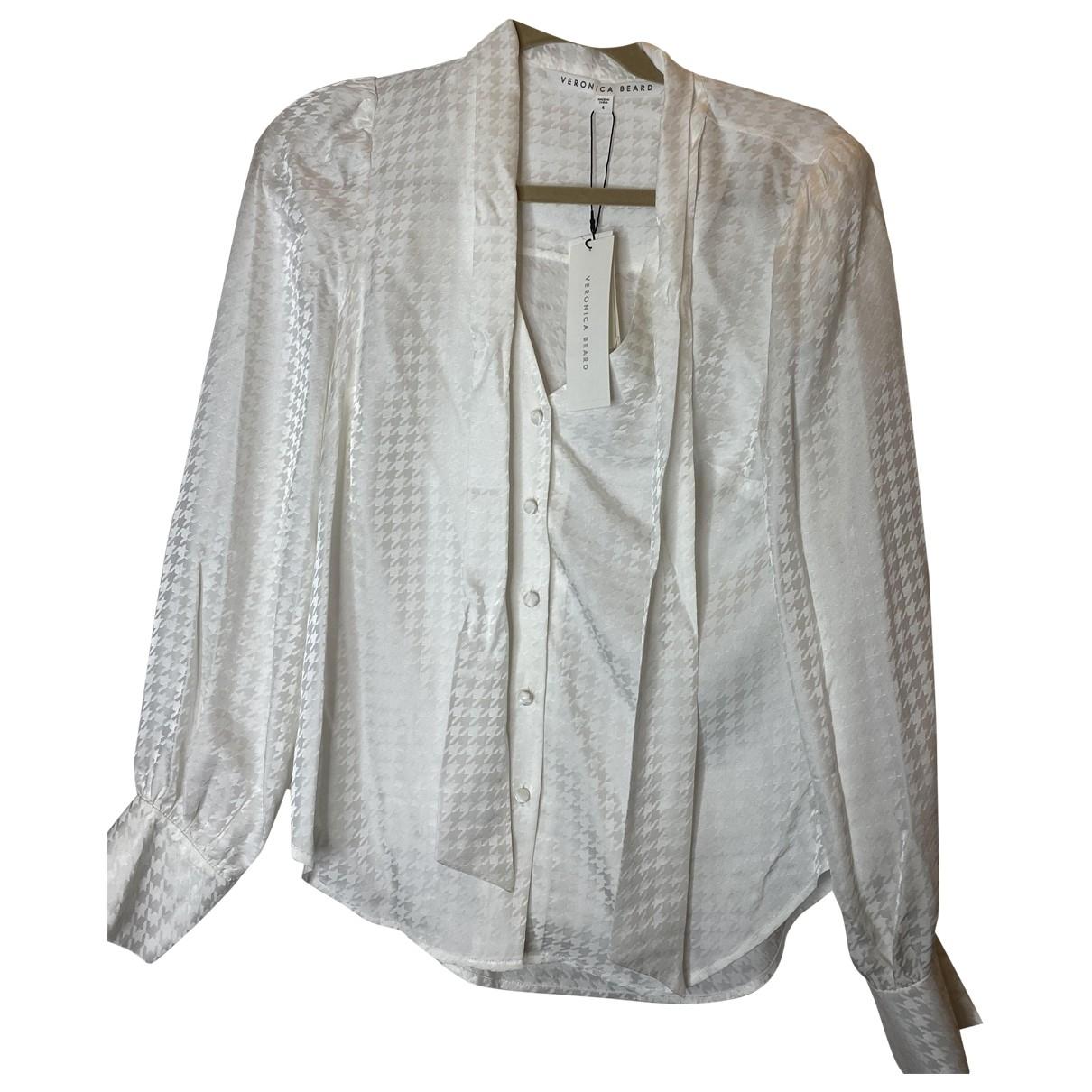 Veronica Beard \N White Silk  top for Women 4 US