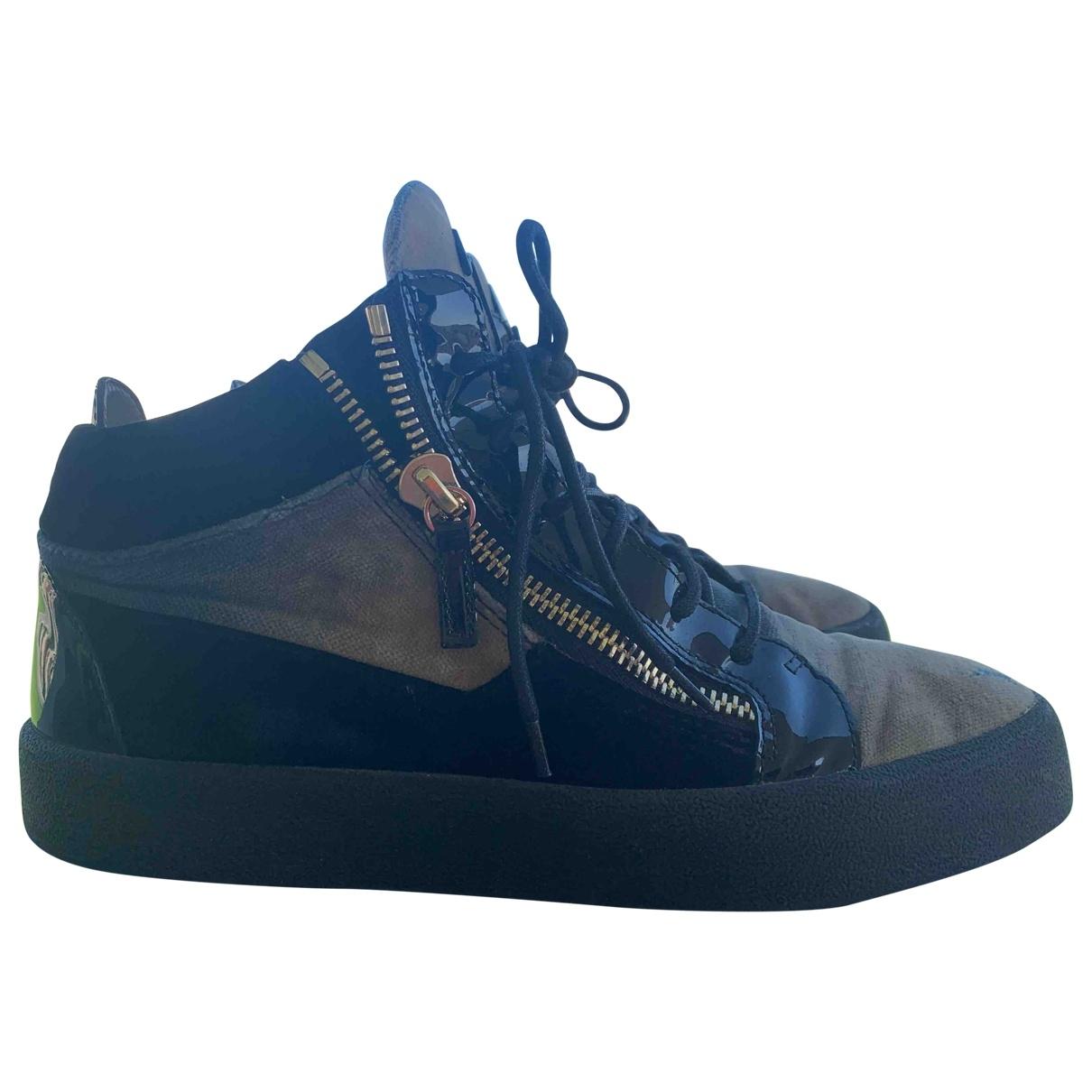 Giuseppe Zanotti \N Beige Suede Boots for Men 42 EU