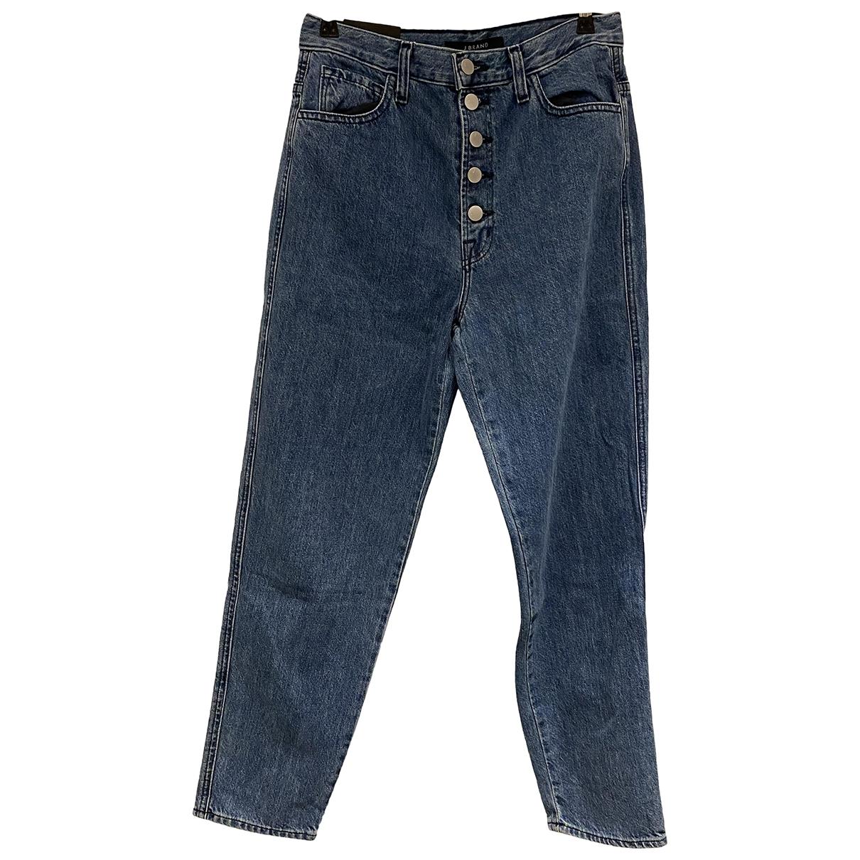 J Brand \N Blue Cotton - elasthane Jeans for Women 27 US