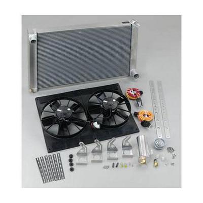 Be Cool 16 Inch High Torque Pusher Fan Module - 98002