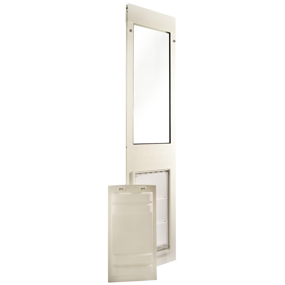 Endura Flap Pet Door - Thermo Panel 3e White Frame - Medium (74.75