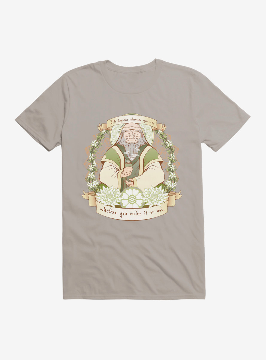 Avatar: The Last Airbender Iroh Life Happens Quote T-Shirt - BoxLunch Exclusive