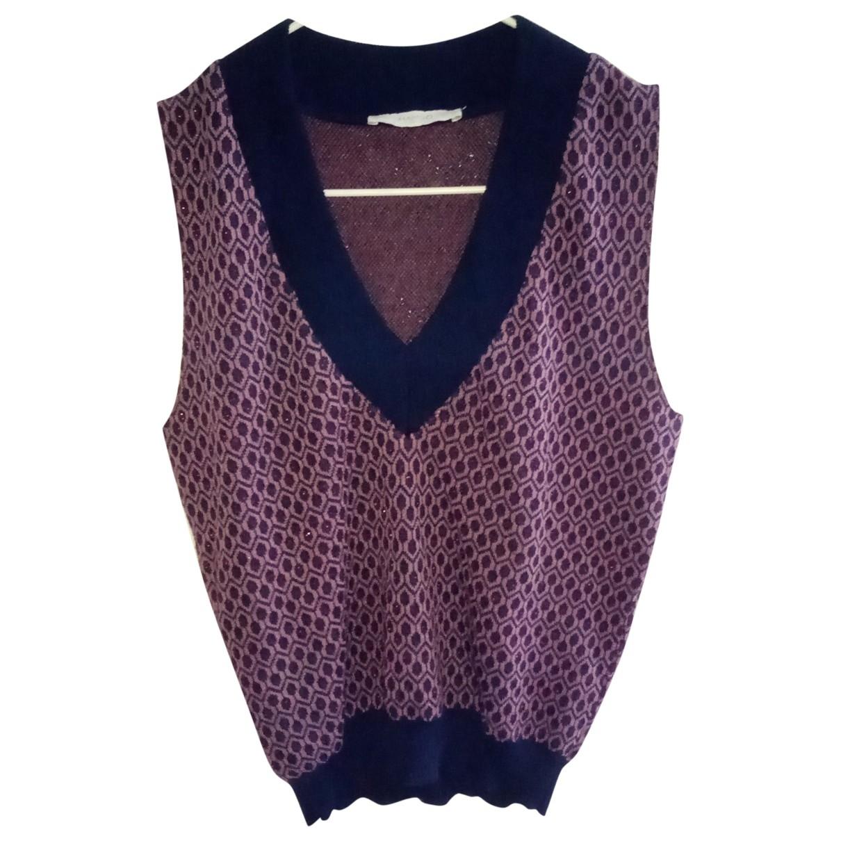 Mango \N Purple Cotton  top for Women S International