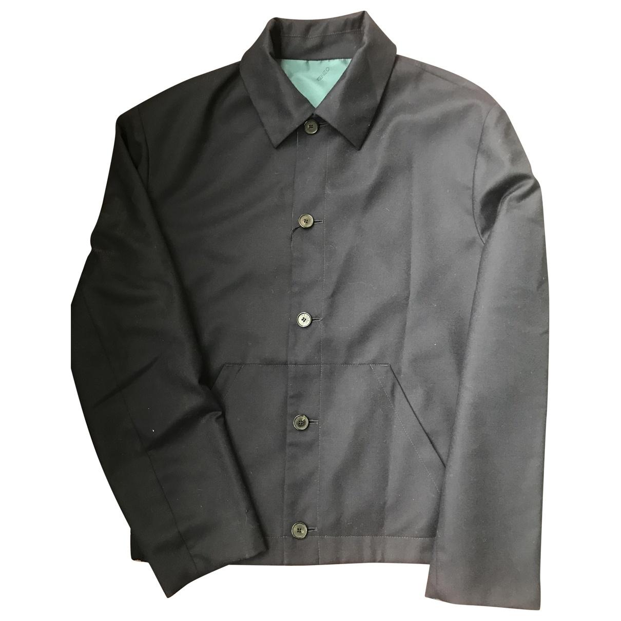 Kenzo \N Navy Wool jacket  for Men L International