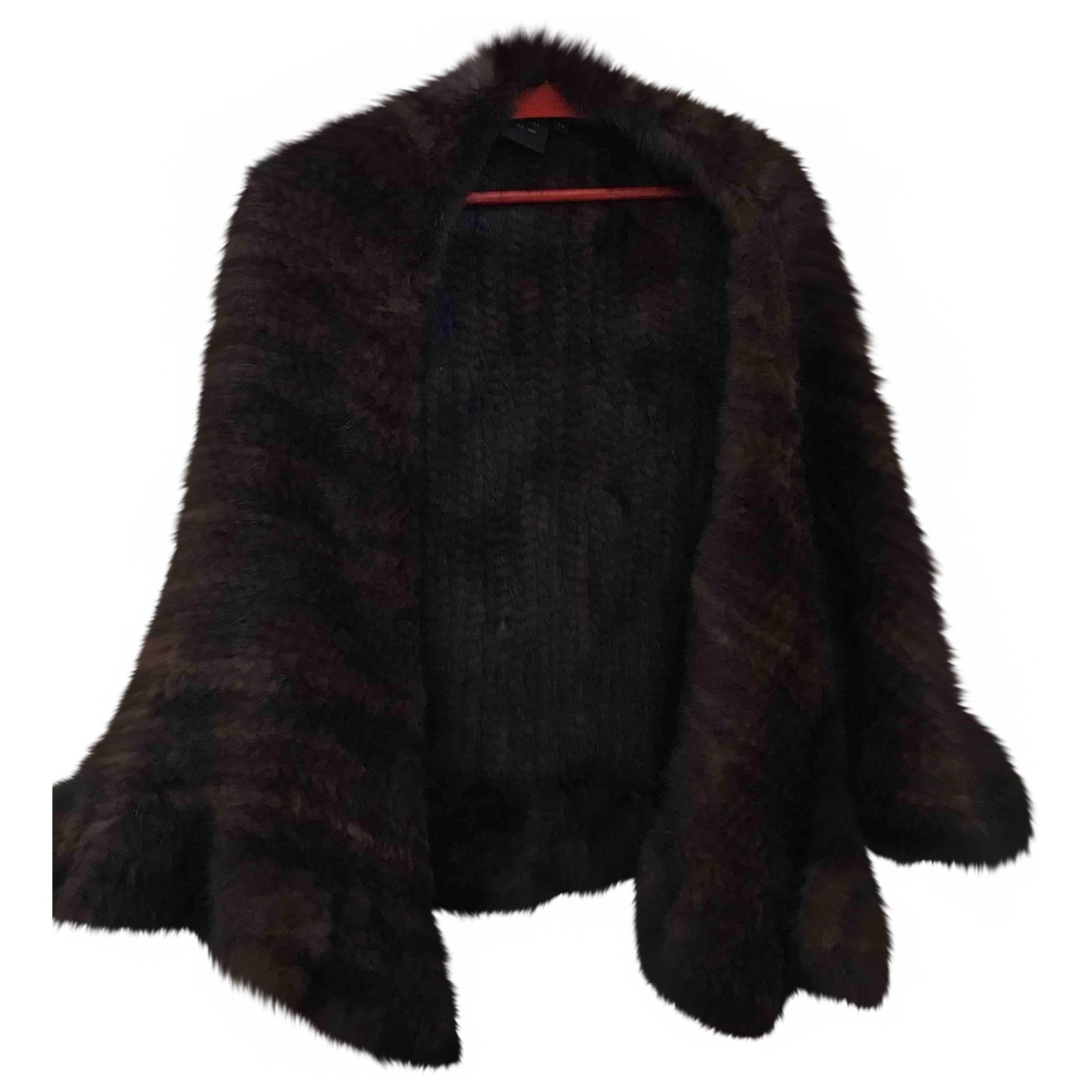 Non Signé / Unsigned \N Brown Mink jacket for Women One Size FR