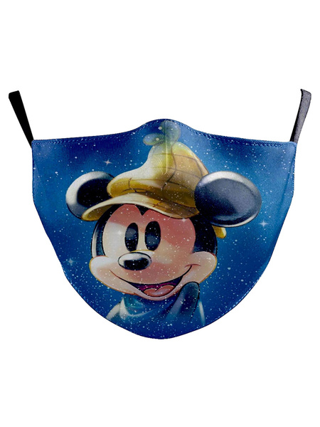 Milanoo Disney Mask Mickey Mouse Cartoon Face Covering