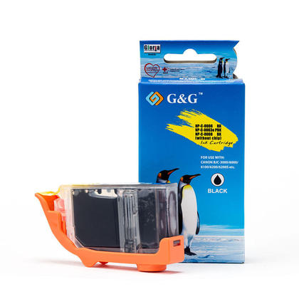 Canon BCI-6BK cartouche d'encre compatible noire - G&G™