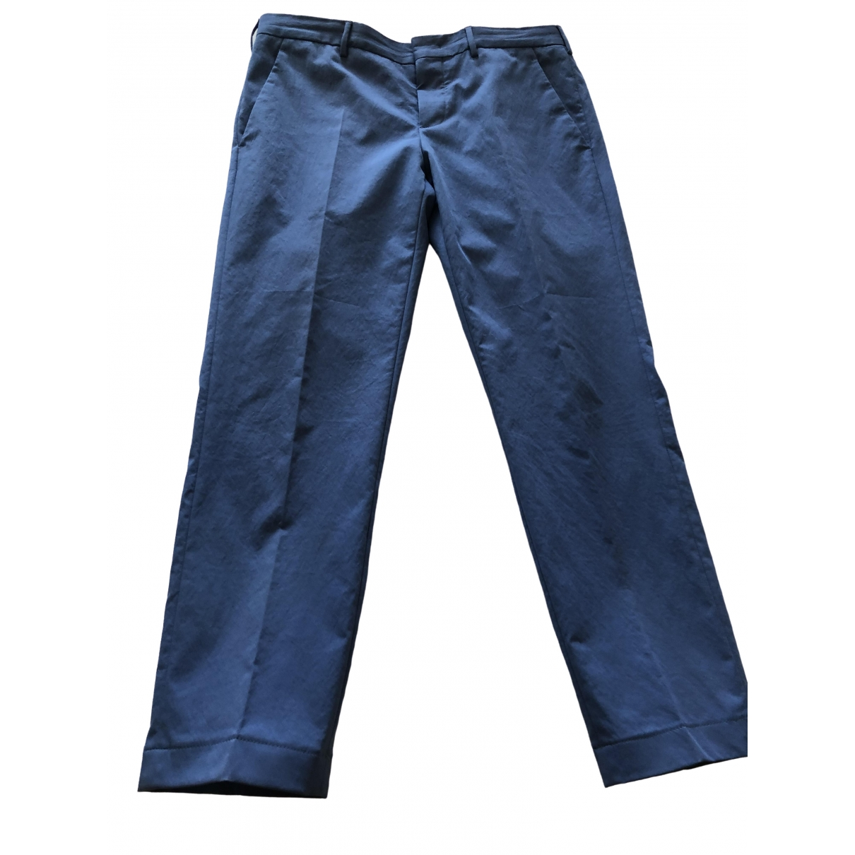 Prada \N Navy Trousers for Men 48 IT