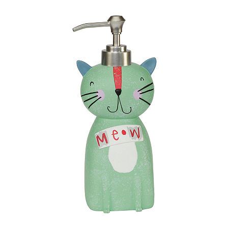 Kitty Soap Dispenser, One Size , Multiple Colors