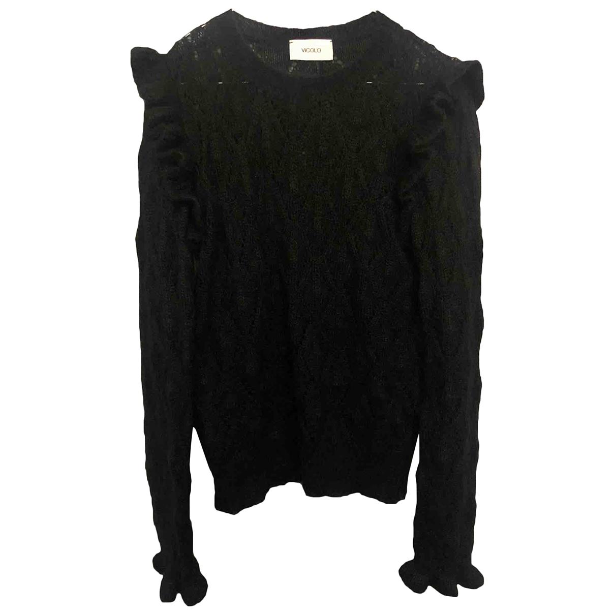 Vicolo \N Black Wool Knitwear for Women 000 0-5