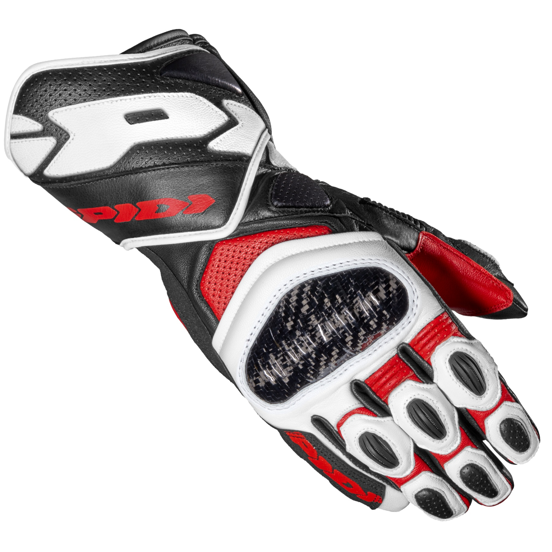 Spidi Carbo 7 Guantes Rojos XL