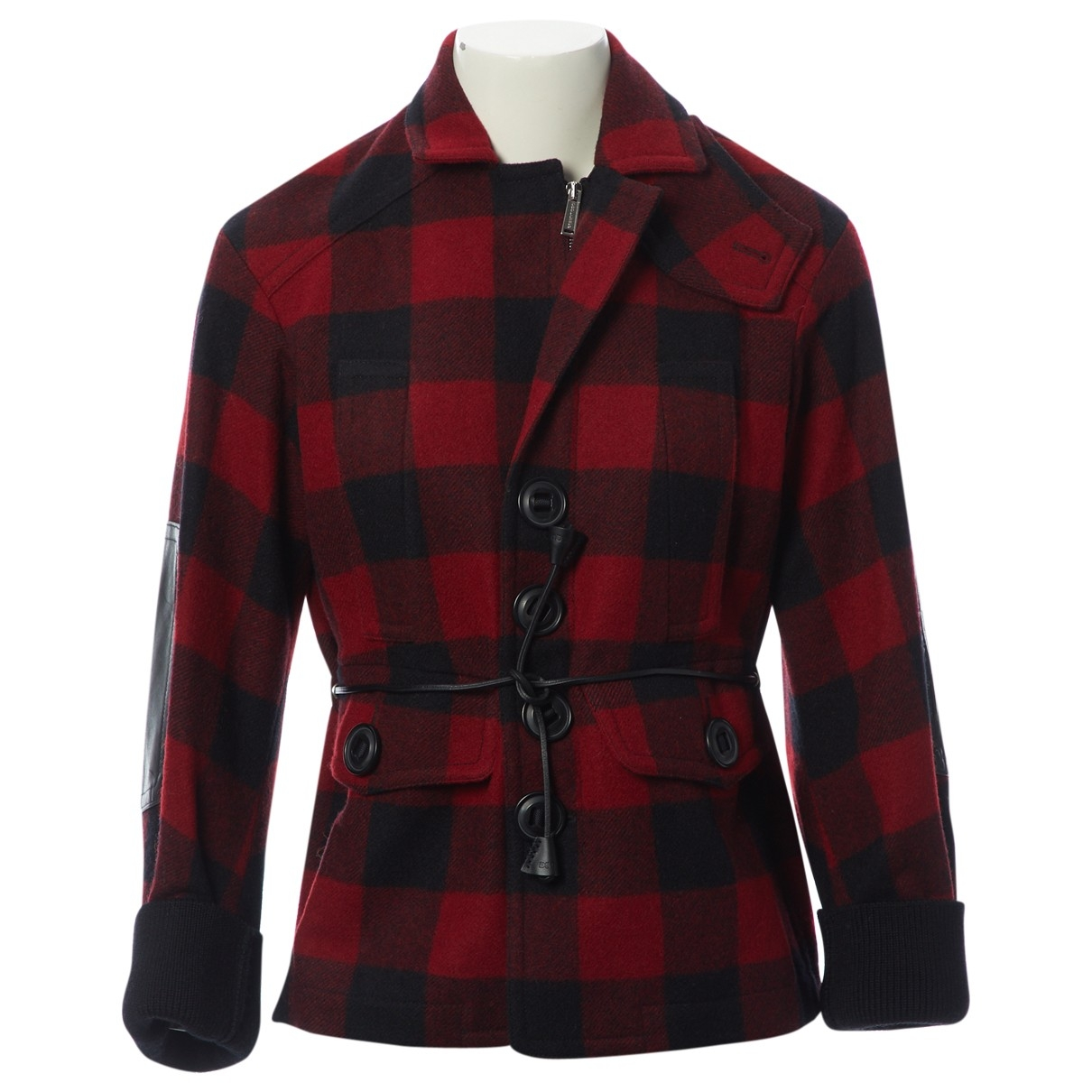 Dsquared2 \N Red Wool jacket for Women 38 IT