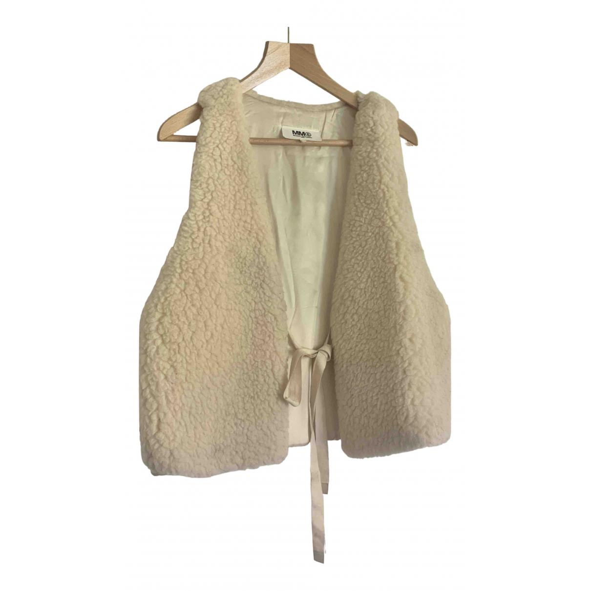 Mm6 \N Beige Wool jacket for Women 10 UK