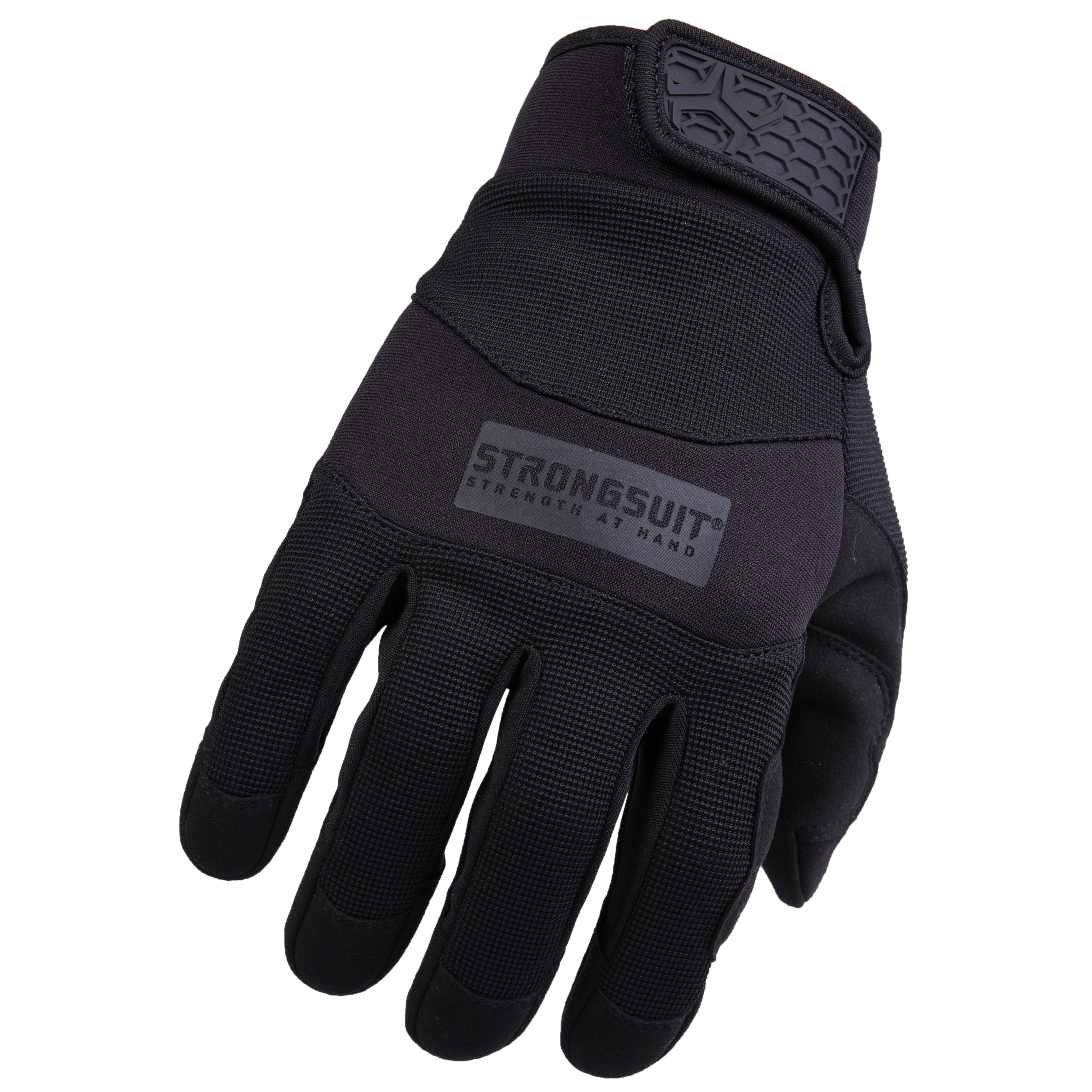 General Utility Plus Mens Gloves, Black, Medium