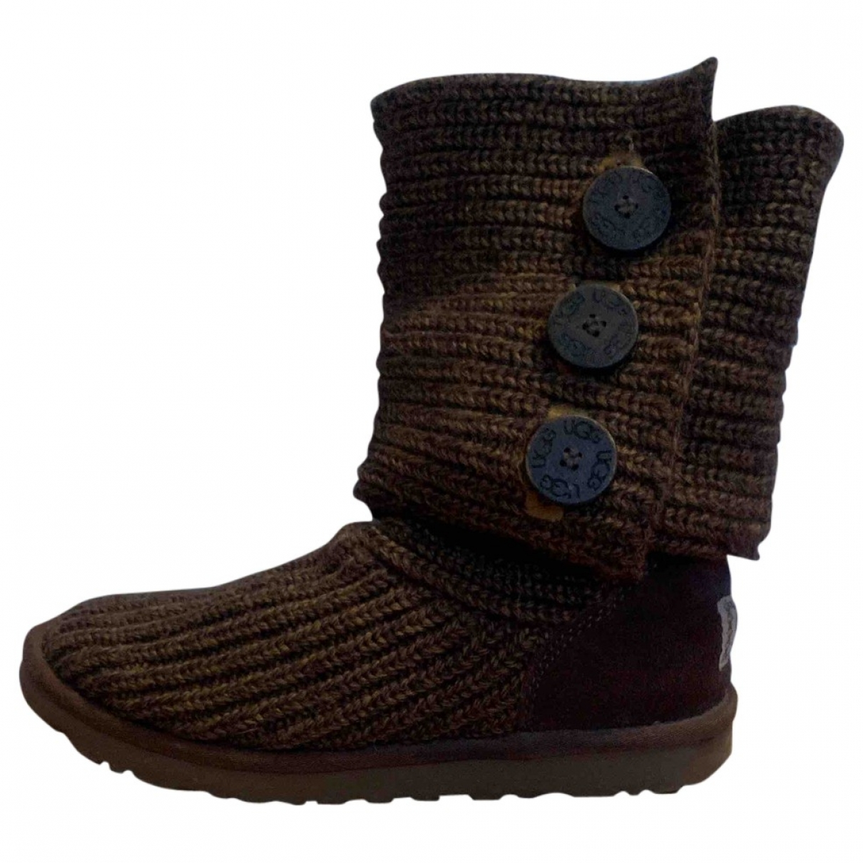 Ugg \N Khaki Suede Boots for Women 39 EU