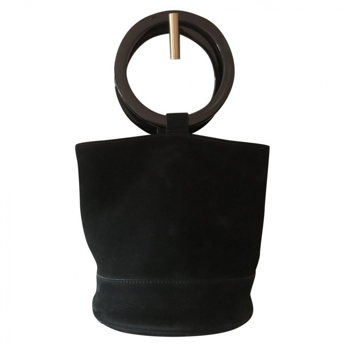 Simon Miller Medium Bonsai Black Suede handbag for Women \N