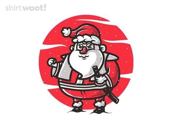 Samurai Santa T Shirt
